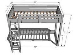 Building a Loft Bed Plan Design