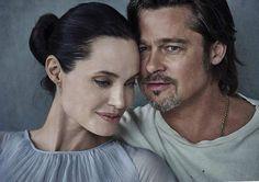 Анджелина Джоли и Брэд Питт в Vanity Fair (Интернет-журнал ETODAY)