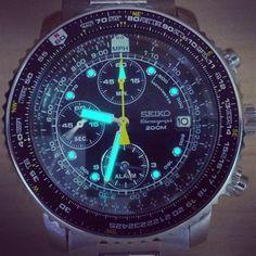 Seiko Chronograph watch, Men watches