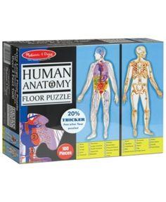 Melissa & Doug Human Anatomy Floor Puzzle