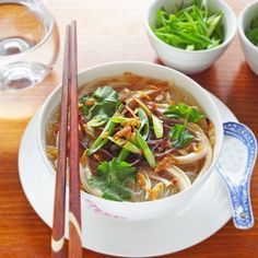Vietnamese Chicken Soup With Glass Noodles Mien Ga Recipe Vietnamese Chicken Soup Chicken Soup Noodles