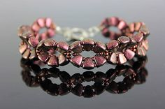 Beaded bracelet with nib-bit beadshttps://www.sashe.sk/kacenkag/detail/purple-nib