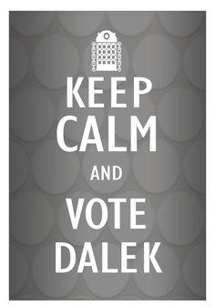 The Daily Dalek | Tone Cartoons © 2011-2012
