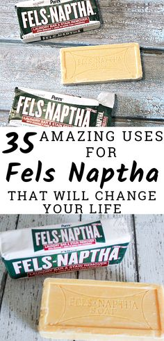 35 Uses for Fels Naptha Soap That Will Change Your Life & Your Budget! This little bar of soap will change your life. so inexpensive. Check out these uses for Fels Naptha Soap that are life-changing. Deep Cleaning Tips, Cleaning Recipes, House Cleaning Tips, Natural Cleaning Products, Spring Cleaning, Cleaning Hacks, Diy Hacks, Green Cleaning, Diy Vanity