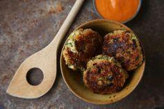 Quinoa-Bratlinge mit Salbitxada-Sauce: Genial kreative Gemüseküche aus dem Hause Ottolenghi
