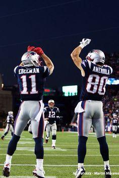 Edelman, Brady and Gronk