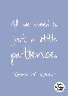 Patience by Guns N' Roses, to: @Ashton Jenkins Jenkins Jenkins Adams-rota