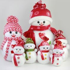 Christmas-Tree-Decoration-Smile-Snowman-Doll-With.jpg (800×800)