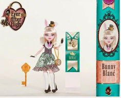 Ever After High: 2015 new character dolls: Bunny Blanc™ (Daughter of the White Rabbit)