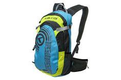 218f7cc4a8 Kellys KLS Hunter blue-green kerékpáros hátizsák