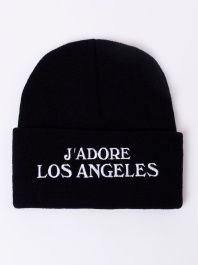 J'adore Los Angeles Beanie by KTag