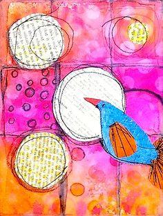 Moon Day Bird