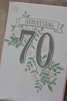 Stampinu0027 Up! SAB Was Ich Mag, SAB What I Love, So Viele Jahre, Number Of  Years, Flowers, Birthday, 70 Geburtstag, Explosion Box, Gift Cards, Envelou2026