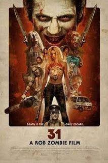 "ZombieBloodFights.com Blog: BLOOD:  Movie Review - Rob Zombie's ""31"""