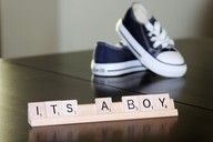 It's A Boy! cute way to tell people