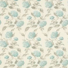 tejido hydrangea azul verdoso