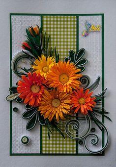 Neli Quilling Art: Quilling cards /14.8 cm- 10.5 cm/