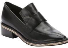 Rachel Zoe chain loafers. Elegant and classy, worn once, very little wear showing on the shoe soles only