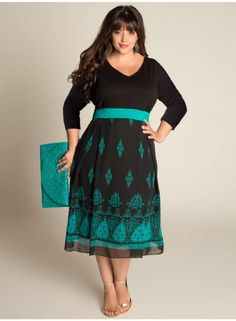 lots of pictures of plus-size pretty dresses