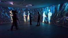 Quantum Space. Interactive video room/installation. Life Zone exhibition at M'ARS Gallery, Moscow. 26.02.15 - 15.04.15 http://kuflex.com Cover photo by Sergey…