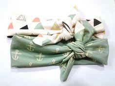 Mint Organic Cotton Head Wrap by SweetKiddoCo on Etsy, $14.00