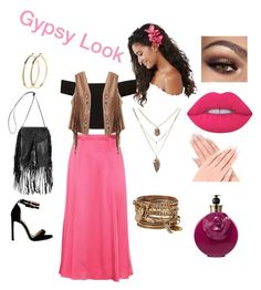 """""""Untitled #30"""" by sarah-feiro on Polyvore featuring ASOS, ALDO, Pieces, Lime Crime, Valentino, Etro and Yves Saint Laurent"""
