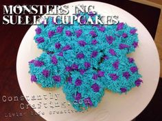 Monster's University Sulley Cupcakes