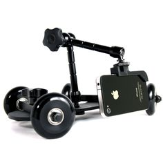 The Revolve Camera Dolly is a photographer's paradise with the ability to capture and create smooth, dynamic video footage.
