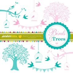 90 best crafty logo business card images on pinterest business birds and trees clipart tree clipart birdcage clipart bird clipart clipart clipart pack set colourmoves