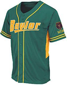 Baylor Bears Adult Bullpen Baseball Jersey by Colosseum $49.95
