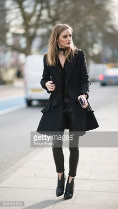 Olivia Palermo seen after the Christopher Kane show at Tate Britain on Day 4 of London Fashion Week February 2017 on February 20 2017 in London...