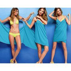 Bikini Wrap Dress #wrap #dress #style #summer #fashion