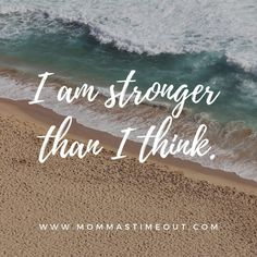 I am stronger than I think. Need a list of badass birth affirmations? Find a motivational, inspirational list of birth affirmations and natural birth quotes. Includes birth affirmations for Hypnobirthing.