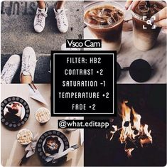 vsco fire hot food outside drinks dark