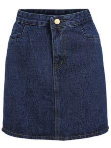 Denim A-Line Blue Skirt