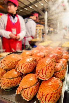 Hong Kong Food - Steamed Crab