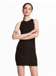 Vestido sem mangas (preto): H&M (9,99€)