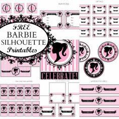 Free Vintage Barbie Party Printables