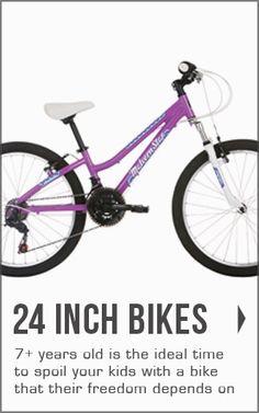 "View our range of 24"" kids bikes  at bikes.com.au"