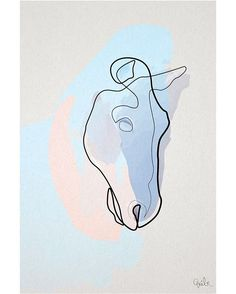 """1,092 Likes, 7 Comments - Quibe (@quibe) on Instagram: """"""""Horse 1711 B"""" (29.7x42 cm) Find this limited edition prints now @Artstarter.io, hurry up they're…"""""""