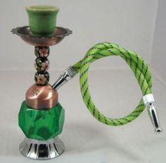 Green mini hookah