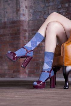 Burlington Whitby Extra Soft Argyle Socks £9.99