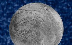 La NASA capta posibles géiseres en una luna de Júpiter