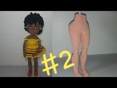 2 - Malaika Boneca de Crochê - UNIR PERNAS - YouTube Crochet Dolls, Ronald Mcdonald, Disney Princess, Character, Youtube, Origami, Mary, Pasta, Crafts
