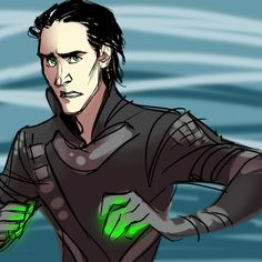 Loki: The Animated Series. (by fornax) << :( he looks so scared, but of himself. He's unsure what to do.