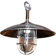 Industrial hanging light fixtures