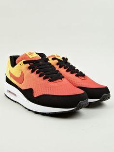 Nike Men's Air Max 1 Sunset Sneakers   oki-ni