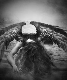 ((Open rp//Be him please//)) I was a fallen angel, forced to hide my wings and live as a mortal. I only aged until 18, Unfortunately it's my birthday and I knew that I would be staying this way forever. I walked out to the medow, it was 12:00 A.M. and I screamed out in anger. Why couldn't I have just stayed up with the other angels? Why did they have to throw me out? I fell to the ground, crying when I hear the crunching of dried grass and leave. I stop, not moving and holding my breathe.