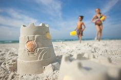 Build a sandcastle via: http://www.budgettravel.com/contest/pinterest/enter-to-win-a-dream-stay-on-the-beaches-of-fort-myers-sanibel,3/#ixzz3U0hNTMgP