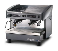 Stilo ES70 2 Group Compact  The Magister Stilo ES70 Compact machine is made from stainless steel and has been designed to be used in environments where space saving is essential